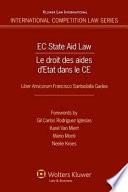 Droit Des Aides D etat Dans la CE