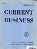 SURVEY OF CURRENT BUSINESS   JANUARY 1946