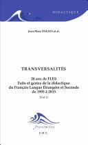 Transversalités Book