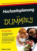 Hochzeitsplanung f  r Dummies