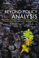 Beyond Policy Analysis