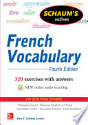 Schaum s Outline of French Vocabulary