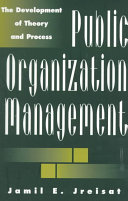 Public Organization Management