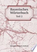 Bayerisches W rterbuch