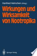 Wirkungen und Wirksamkeit von Nootropika