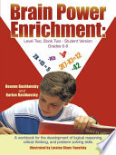Brain Power Enrichment  Level Two  Book Two   Student Version Grades 6   8