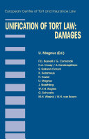Unification of Tort Law: Damages