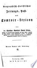 Geographisch-statistisches Zeitungs-, Post- und Comtoir-Lexicon