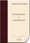 illustration du livre Etude Biblique sur la Rédemption