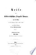 Rise der oesterreichischen fregatte Novara um die erde, in den jahren 1857, 1858, 1859, unter den befehlen des commodore B. von Wüllerstorf-Urbair