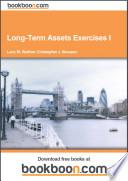 Long Term Assets Exercises I