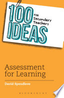 100 Ideas for Secondary Teachers  Assessment for Learning