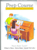 Alfred s Basic Piano Prep Course Theory  Bk F