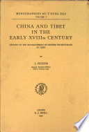 China and Tibet in the early XVIIIth century