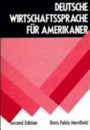 Deutsche Wirtschaftssprache F  r Amerikaner