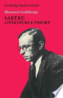 Sartre  Literature and Theory