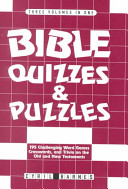 Bible Quizzes and Puzzles