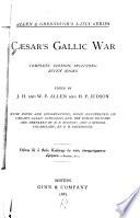 C Sar S Gallic War