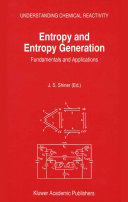 Entropy and Entropy Generation