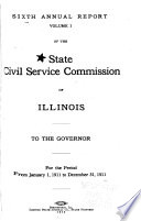 Annual Report of the State Civil Service Commission of Illinois to the Governor
