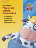 Reading 2007 Spelling Practice Book Grade 1