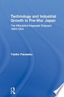 Technology and Industrial Growth in Pre War Japan