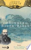 Ein Sommer in Baden Baden