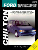 Chilton's Ford Windstar/Freestar 1995-07 Repair Manual