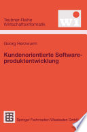 Kundenorientierte Softwareproduktentwicklung