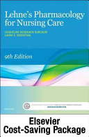 Lehne s Pharmacology for Nursing Care   Text and Elsevier Adaptive Quizzing  Access Card  Package