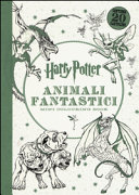 Harry Potter  Animali fantastici  Mini colouring book