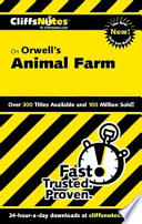 CliffsNotes on Orwell s Animal Farm