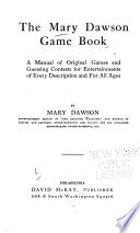 The Mary Dawson Game Book
