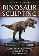 Dinosaur Sculpting Book