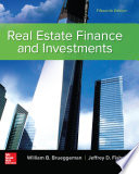 Real Estate Finance   Investments