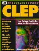 Official Study Guide for the CLEP Examinations  1998