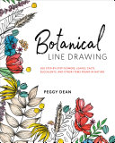 Botanical Line Drawing Cacti With 200 Step By Step Prompts Line