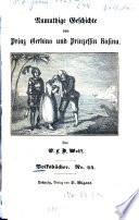 Anmuthige Geschichte von Prinz Gerbino und Prinzessin Rosina