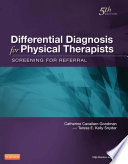 Differential Diagnosis For Physical Therapists E Book