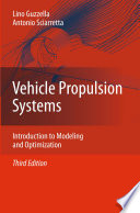 Vehicle Propulsion Systems book