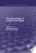 The Psychology of Control and Aging  Psychology Revivals