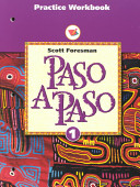 Paso a Paso 1996 Spanish Practice Sheet Student Workbook Level
