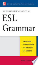 McGraw Hill s Essential ESL Grammar