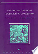 Genetic And Cultural Evolution Of Cooperation book