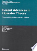 Recent Advances In Operator Theory book