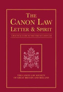 The Canon Law Letter   Spirit