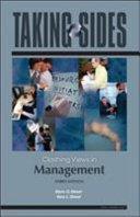 Taking Sides  Clashing Views in Management