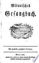 Mitauisches Gesangbuch