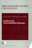 Komik in der österreichischen Literatur