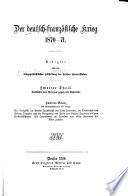 Der deutsch-französische krieg, 1870-71